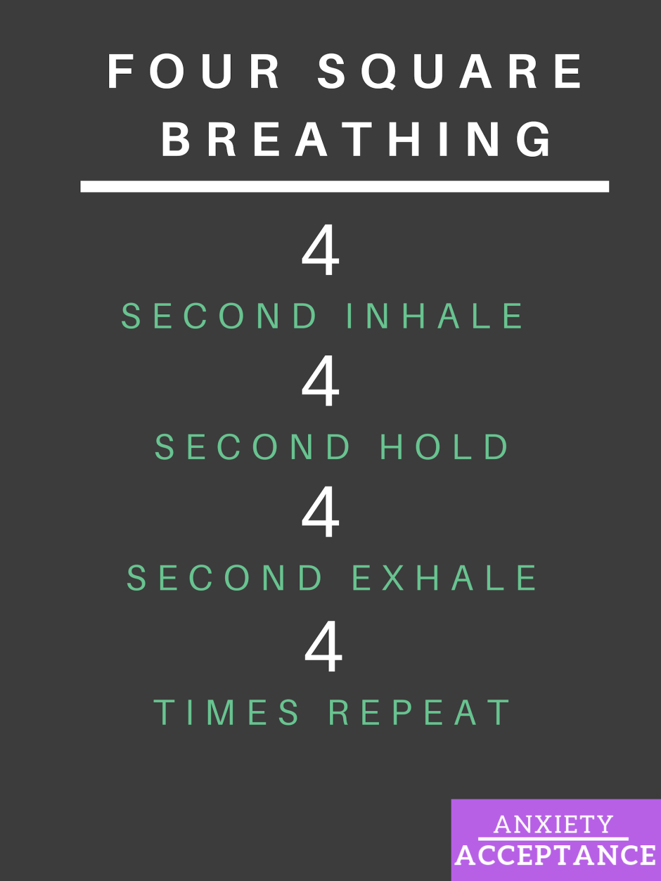 Anxiety breathing